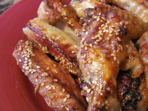 Keirstens kitchen orange sesame wings