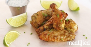 lime jalepeno chicken wings from stupid easy paleo