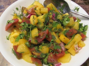 Mango Salsa from Keirstens Kitchen