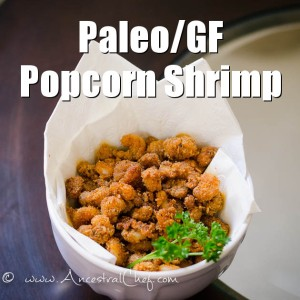 popcorn shrimp from ancestral chef as seen in paleo magazine